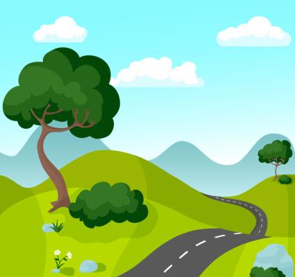 Esc 168 166 Nica Carretera De Monta 241 A Entre El Material De