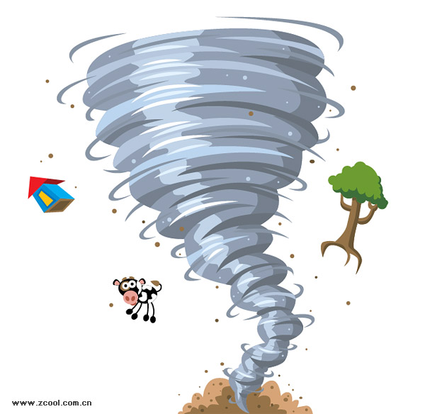 free animated tornado clipart - photo #20
