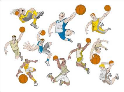 Deportes vector, vector de descargas gratuitas, Baloncesto, F ...