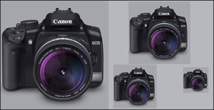 Canon 400D Lens (PNG + Icono)